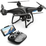 Holy Stone HS100 FPV RC Drone with Camera Live Video and GPS Return Home Quadcopter with Adjustable Wide-Angle 720P HD WIFI Camera- Follow Me,...