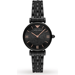 Armani Gianni T-Bar Black Ladies Watch AR11245