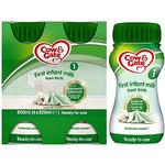 Cow & Gate 1 First Baby Milk Formula Multipack From Birth 4x200ml