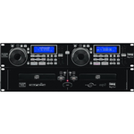 IMG Stage Line CD-292USB DJ Twin CD Player Anti Shock USB 2.0 Interface with Seamless Loop Scratch