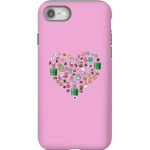 Pixel Sprites Heart Phone Case - iPhone 8 - Tough Case - Gloss