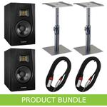 "Adam Audio T5V 5"" Studio Monitors with Desktop Stands & Cable"