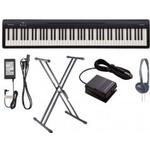 Roland FP10 Digital Piano Black XX Frame Package