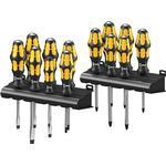 Wera Big Pack Kraftform Chiseldriver 900 Series Set, 13 Piece SL/PH/PZ/TX