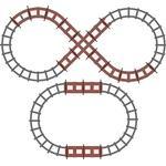 Peg Perego Figure 8 Track Set for Santa Fe Train
