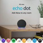 All-new Echo Dot 4th GEN Smart speaker with Alexa - Charcoal