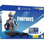 SONY PLAYSTATION 4 PS4 SLIM 500GB CONSOLE - FORTNITE NEO VERSA BUNDLE - JET BLACK