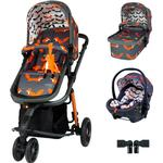 Cosatto Giggle 3 Premium Travel System Bundle - Charcoal Mister Fox