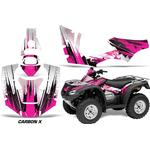 AMR Racing Decal Graphics Kit Quad Wrap CARBONX PINK Honda FourTrax Rincon 06-18