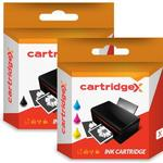 Compatible Black & Colour Ink Cartridge For Hp 350 & 351 Officejet J6480