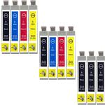 Compatible Multipack Epson Expression Home XP-257 Printer Ink Cartridges (11 Pack) -C13T29914010