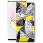 Samsung Galaxy NOTE 10+ PLUS SIGNATURE ABSTRACT Yellow Sketch - 3
