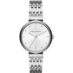 Armani Exchange Ladies Zoe Watch with Stainless Steel Mesh Bracelet