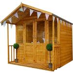7 by 7 summerhouse Outbuildings Mercia Traditional Summerhouse - 7 x 7ft