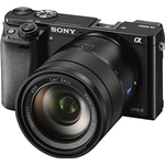 Sony Alpha A6000 Digital Camera with 16-70mm Zeiss Lens - Black