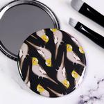 Cockatiel Pocket Compact Mirror