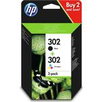 HP 302 Original Ink Cartridges Black & Colour