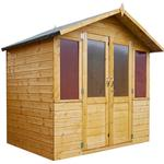 7 by 7 summerhouse Outbuildings Mercia Traditional Summerhouse - 7 x 5ft