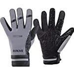 Waterproof & breathable cycling gloves Sportswear Proviz Men's Reflect360 Waterproof Cycling Gloves, Silver, Medium