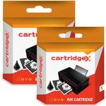 Compatible 2 x Black Ink Cartridge Compatible With Epson XP-442 XP-445 XP-452 XP-455 XP-235