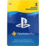 Playstation Network Plus 3 Month Membership
