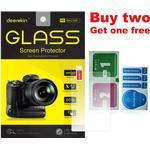 Deerekin 9H Gehard Glas Lcd Screen Protector Voor Canon Eos M6 M6 Mark Ii/M50 Mark Ii (eos Kiss M M2) mirrorless Camera
