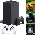Xbox Series X Console with Robot White Controller, Mortal Kombat 11 Ultimate, Resident Evil VIIIage and FIFA 21 NXT LVL (Xbox Series X)