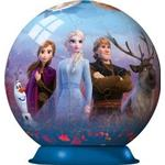 Disney Frozen 2 - 72 Piece 3D Jigsaw Puzzle Ball