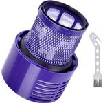 Replacement V10 Filters for Dyson V10 Cyclone Series, V10 Animal, V10 Total Clean, SV12, Replace Part No. 969082-01