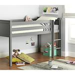 Argos Home Brooklyn Mid Sleeper Bed Frame - Grey