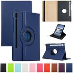 360 Rotating Flip PU Leather Case For iPad 7 8 10.2 Samsung Tab S6 Lite P610 T307 S7 Plus T870 T970 A7 T500 Huawei Matepad 10.4 Pro 10.8 T8