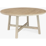 KETTLER Cora 6 Seat Round Garden Dining Table, FSC-Certified (Acacia Wood), Natural