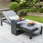 Kettler Elba Lounger and Side Table
