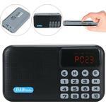 DAB DAB+ Digital Radio Portable Pocket Bluetooth Speaker FM battery