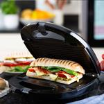 3 in 1 Sandwich Waffle Panini Toaster Grill Snack Maker Interchangeable Plates