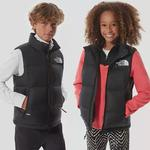 The North Face Youth 1996 Retro Nuptse Gilet Tnf Black Size XS