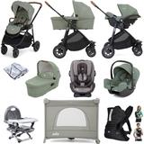 Joie Versatrax (i-Snug + Every Stage) Everything You Need Travel System Bundle with Carrycot - Laurel