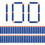 100 pieces 7.2cm suction cup arrows darts refill bullets foam arrows accessories for Nerf N-Strike Elite Series (suction cup)
