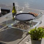 2021 Bramblecrest Griddle with Square Bracket For Square Casual Dining Tables with Fire Pits