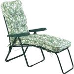 Glendale Deluxe Cotswold Leaf Lounger Chair - Green