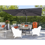 Kettler LaMode Weave Corner Sofa Dining Set - NO CHAIRS