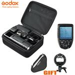 Godox AD200 TTL Speedlite Flash+Xpro-N Trigger For Nikon+Free Softbox