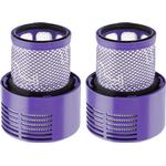 Briday - 2 Pack Vacuum Filter Replacement Compatible with Dyson Cyclone V10 Absolute Animal Motorhead Total Clean, Replaces Part # 969082-01