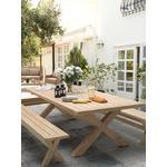 KETTLER Cora Garden Bench, 230cm, FSC-Certified (Acacia Wood), Natural
