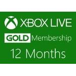 XBOX Live 12-month Gold Subscription Card CA