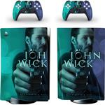 John Lont PS5 Standaard Disc Skin Sticker Decal Cover Voor Playstation 5 Console & Controller PS5 Skins Stickers Vinyl