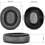 1 Pair Protective Foam Ear Pads for Philips-SHP9500 Headset Cushion Cover Earpads Replacement
