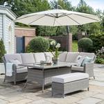 2021 Kettler Charlbury Casual Garden Dining Corner Sofa Set