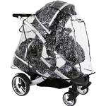 Tandem Rain Cover To Fit Baby Style Egg Tandem