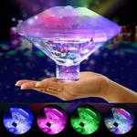 Hot Tub Floating LED Lights Lazy Spa Underwater Swimming Pool Pond Bath Lamps